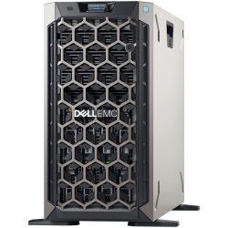 Dell PowerEdge T340 Server, Xeon E-2224, up to 8 x 3.5' Hot Plug HDD, 16GB DDR4 ECC UDIMM, 4 x 4TB NLSAS, PERC H330, DVD +/-RW,