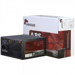 Power Supply INTER-TECH Argus APS 620W, efficiency 86.3%, dual rail